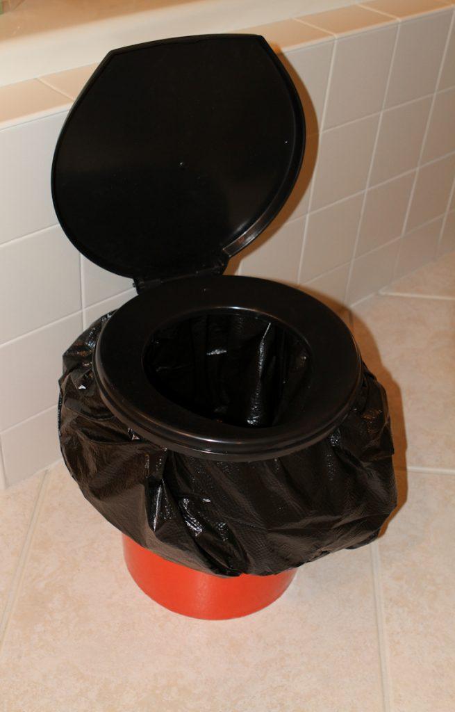 Emergency Bucket Toilet