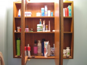 Medicine Cabinets in Bathrooms are too Humid