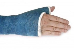fracture-in-a-cast