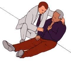 myocardial infarction position