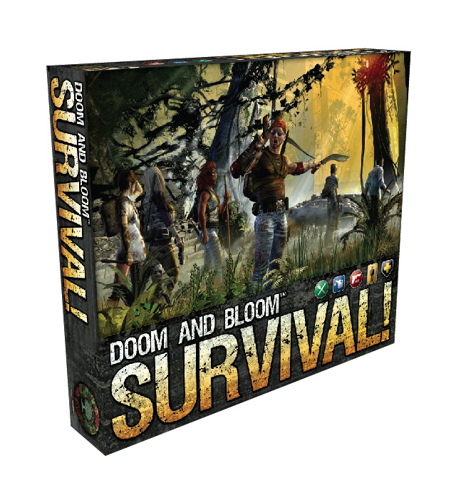 The Doom and Bloom SURVIVAL! board game