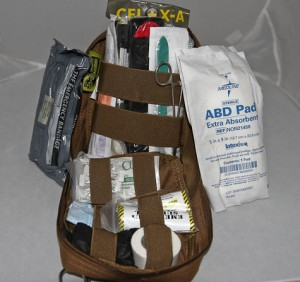 gunshot wound kit