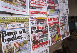 ebola newstand