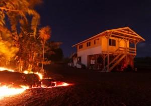 volcano lava house