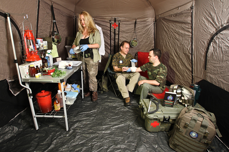 Survival Medicine Hour: Black Scout, Pt. 2, Azithromycin, Sick Room Set-Ups