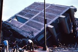 Scene from 1985 earthquake that killed 10000