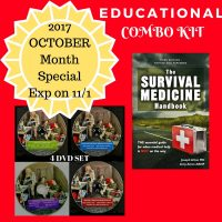 The best price for The Survival Medicine Handbook and DVD 4 Set