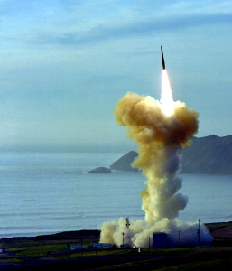 ICBM launch