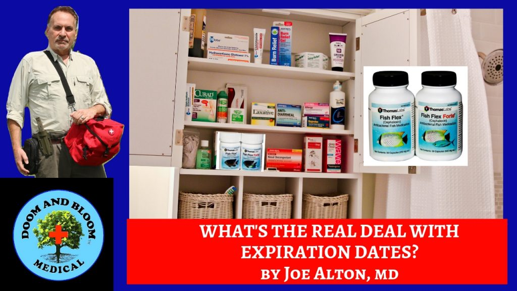 Video: Expiration Dates and the Off-Grid Medic