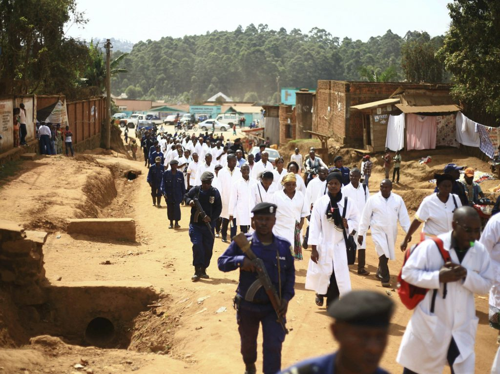 Health Workers In Areas Of Conflict
