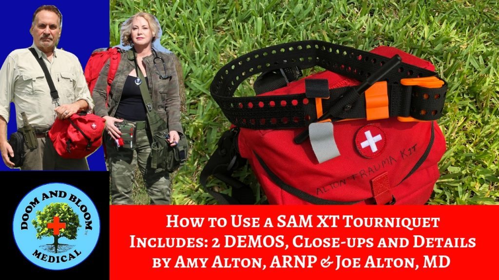 Video: SAM-XT Extremity Tourniquet Demo with Nurse Amy