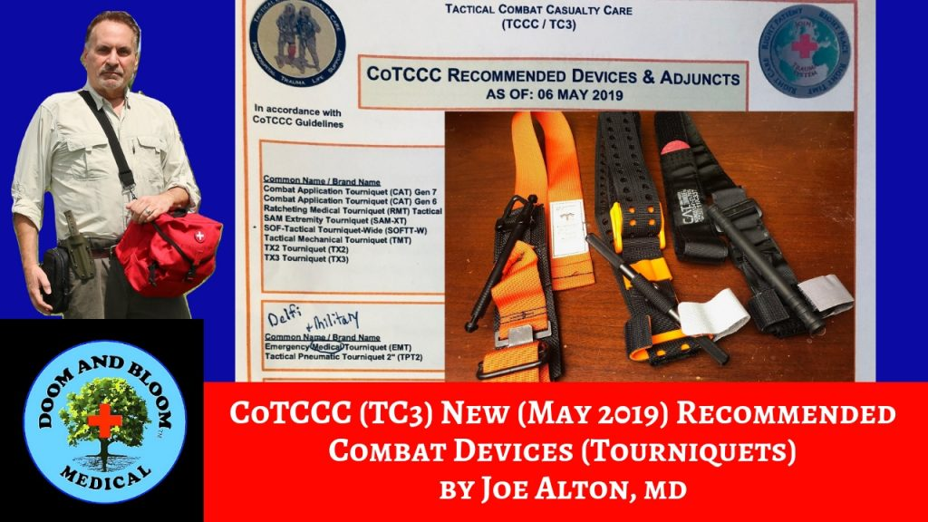 Video: New Tourniquets Approved By The TCCC