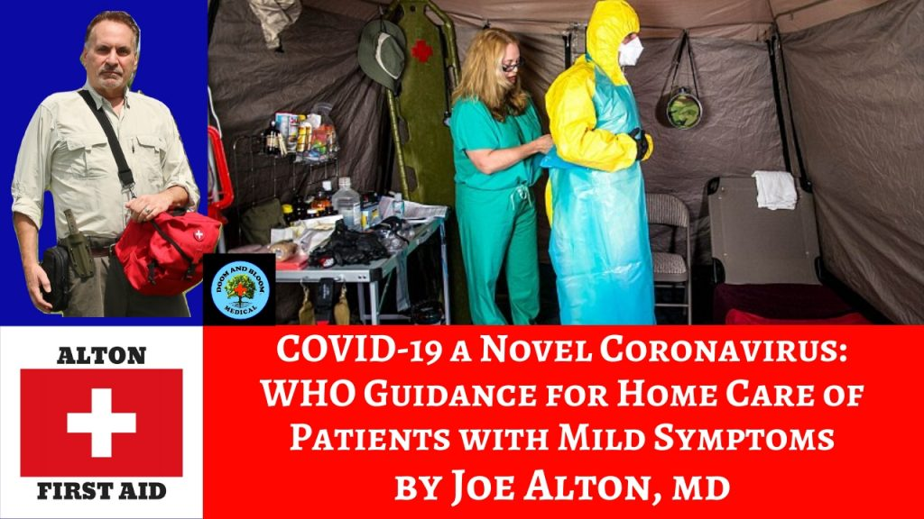 Home Care for COVID-19 Patients: WHO Guidance