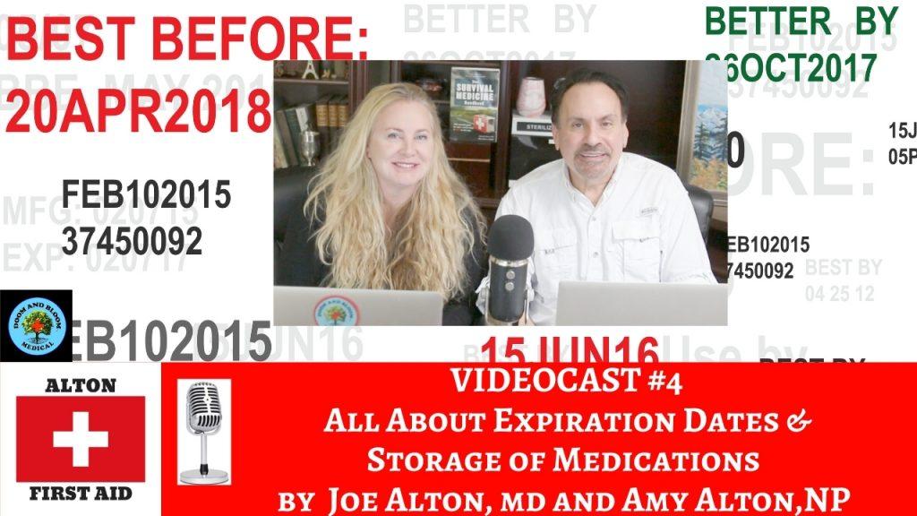 Video Podcast: Expiration Dates, Drug Storage